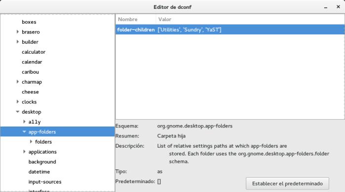 Agrupar aplicaciones en el menu de Gnome Shell