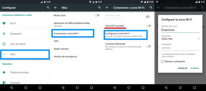 Creando un Access Point en Android